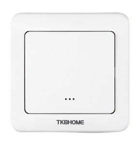 EU Standard Z-Wave wall switch for incandescent lamp LED on off control with max. load 1380W 6A