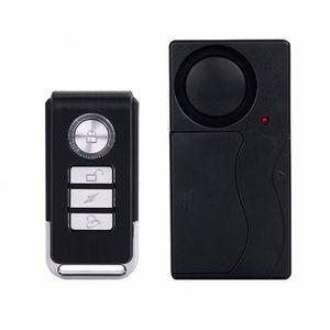 Pratik Kablosuz Uzaktan Kumanda Titreşim Alarmı Sensörü Kapı Pencere Araba Ev Ev Güvenlik Sensörü Dedektörü