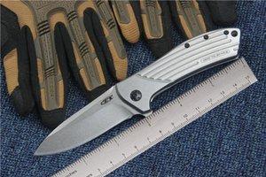 Нулевой терпимости дизайн Rexford ZT0801 0801 Stonewashed тактический складной нож D2 открытый кемпинг охота выживания карманный EDC коллекция инструментов