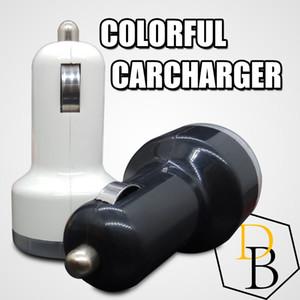 2 usb colorido carregador de carro porta de cigarro 5 v 1a micro auto adaptador de energia dupla usb para apple samsung s7
