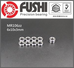 MR106ZZ Lager ABEC-1 (10 STÜCKE) 6 * 10 * 3mm Miniatur MR106 ZZ Kugellager L1060ZZ MR106 Z 6x10x3 MM