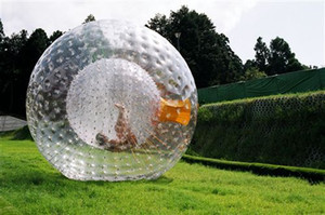 (متجر متخصص) zorb ball 2.5 M و 3 Mdiameter الكرة الهامستر الإنسان 0.8 مم PVC المواد في الهواء الطلق لعبة نفخ الكرة نفخ لعبة