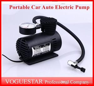 Auto Compressor de Ar Da Bomba Elétrica Mini 12 V Car Auto Bomba Portátil Pneu Inflator bombas Ferramenta 300PSI ATP019