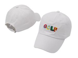 Venta al por mayor Tyler The Creator Golf Hat bordado gorras de béisbol para hombres y mujeres sombrero de papá ajustable