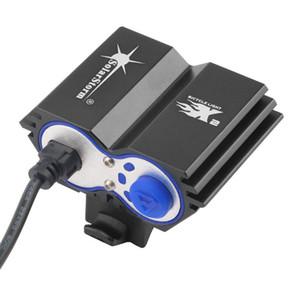 solarstorm X2 Lumens XM-L U2 LED Vélo Vélo Vélo Tête Avant Lumière flash light
