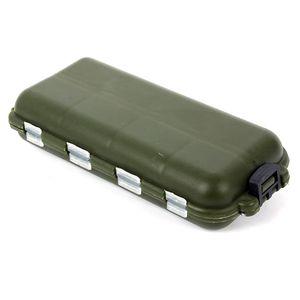 Atacado-New Fishing Accessories Box Caso Peixe Isca Isca Ganchos Tackle Outdoor Sports Tool Útil