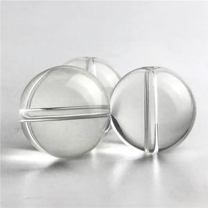 Nouveau verre Carb Cap pour Quartz Smoking Nails Flat Top Domeless Quartz ongles diamètre extérieur de 25 mm Perles de verre boule de verre épais Caps Tuyaux d'eau