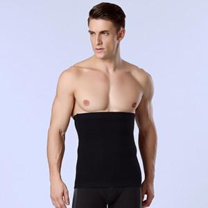 Atacado-1pcs Banda Homens Slimming Body Shaper Barriga Cintura Abdômen Cinto Shapewear Tops Mens Trainer Cintura Compressão Cueca Cinta