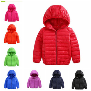 New winter boys girls jacket snow treasure cartoon coat cotton-padded clothes cotton-padded clothes children's coat Kid light down jacket