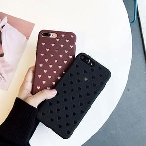Antichoc en caoutchouc mat ultra souple ultra mince couverture pour Apple iPhone 6 6S 7 Plus cas