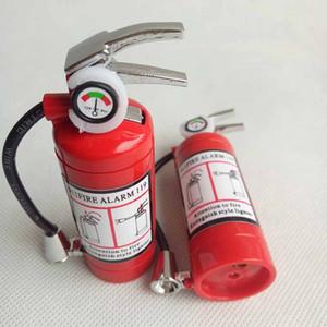 Mini extincteur de style en forme de butane jet briquet cigarette de cigare avec lampe de poche LED rechargeable aucun outil de fumage de gaz briquet 10pcs / lot