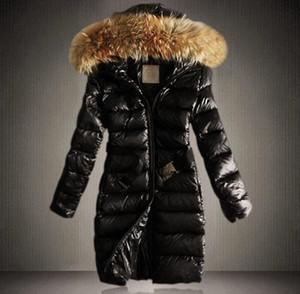 2017 새로운 패션 롱 겨울 자 켓 여성 슬림 여성 코트 Thicken Parka 면화 의류 후드 파커 높은 품질. 무료 배송
