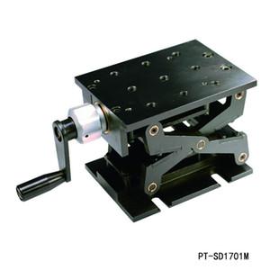 Präzise Manuelle Lift Z-Achse Manuelle Lab Jack Vertikale Übersetzung Bühne Aufzug Optische Sliding Lift 94mm Reisen PT-SD1703M