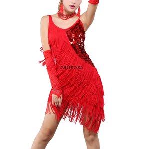 1920er Jahre Themen Paso Doble Latin Kostüme Kleider Bekleidung Kleidung Outfits Fringe Pailletten 1920 20er Jahre Gatsby Motto Prom Party Kleider Kostüme
