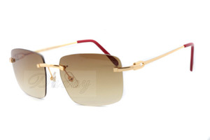 Neue Mode Persönlichkeit Sonnenbrille 3524012-B Freizeit Sonnenbrille Dekoration hochwertige Reise Sonnenbrille Gläser