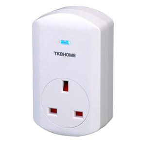 UK heißer verkauf TKBHOME WiFi 3G / 4G drahtlose Z-Wave Power Monitor Stecker TZ69E mit Barcode