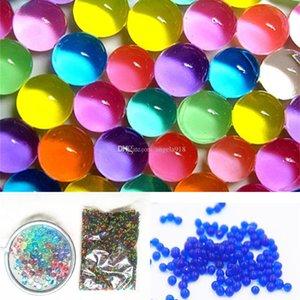 2017 nouvelles perles d'eau Puzzle océan bébé jouets gonflables artefacts de fleurs perles d'eau 10000pcs / set C1854