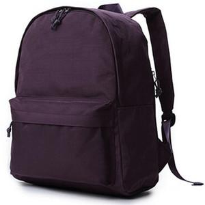 Фиолетовый рюкзак muji нашел дневной пакет бесплатная корабль школа сумка повседневная упаковка качества rucksack sport школьная сумка открытый daypack