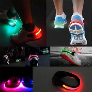 도착 1 PC LED 빛나는 구두 클립 빛 밤 안전 경고 LED 가벼운 플래시 라이트 신발 보호대 드롭 배송