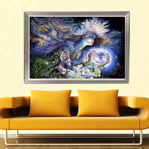 Promotion DIY Partial 5D Diamond Embroider The Fairy Round Diamond Painting Cross Stitch Kits Diamond Mosaic Home Decoration
