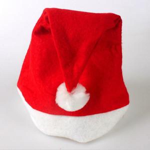 New Christmas Supplies Cap Thick Ultra Soft Plush Santa Claus Christmas Holiday Hat 30*40cm Christmas Cap Santa Caus Hat