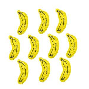 Giyim için 10 ADET banana işlemeli yamalar demir on patch aplike demir-on yamalar dikiş aksesuarları giysi DIY üzerinde işlemeli çıkartmalar