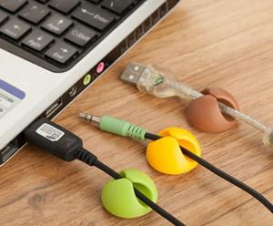 لون عشوائي حامل الأسلاك الكهربائية سطح المكتب العالمي ثابت الأسلاك المشبك usb سلك إصلاح جهاز محور كهربائي