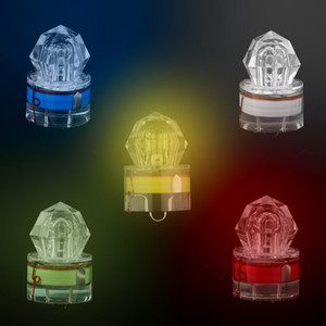 LED Fishing Light Deep Drop Underwater Diamond Shaped Flashing Light Cebo
