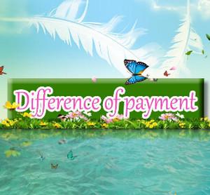 Diferencia de pago Envío Gratis