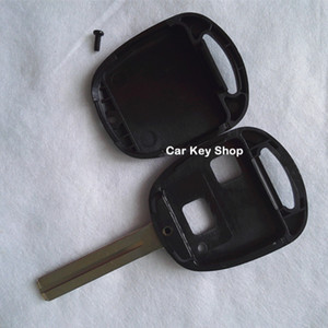 Custodia chiave di ricambio per chiave remota Toyota Shell 2 pulsanti TOY48 Corto Senza logo