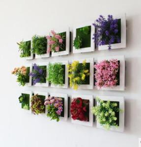 식물 프레임 벽의 시뮬레이션 육류 공장 프레임 벽 시뮬레이션 꽃 벽 장식의 시뮬레이션을 탑재