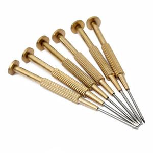 6 pçs / lote joalheiros de precisão assistir chaves de fenda set kit phillips ferramentas de reparo plana a melhor qualidade para relojoeiro