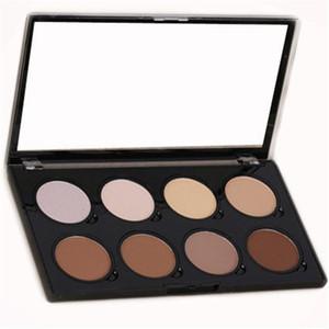 NYX Highlight & Contour Pro Pattle Review 8 Color Pallette Bronzers Kit Set Moisturizing Foundtion Face Makeup Cosmetics