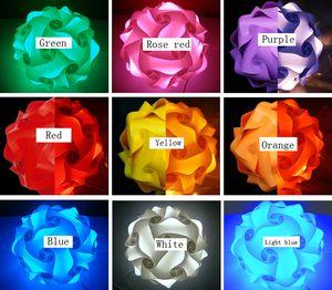 DIY Puzzle Свет Бесконечность Свет IQ Light Pieces Красочный бесконечность головоломки Свет абажур # 30