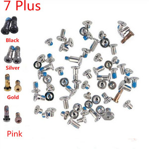 100% High Quality for iPhone 5 5C 5S 6 6S 7 Plus Complete Full Kit Screws Sets With Bottom Dock Screws (419IPAM10)