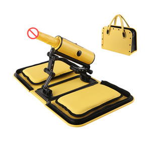 Portable Handbag Sex Machine with Vibration Dildo Remote Automatic Retractable Love Machine Gun Female Masturbator Sex Furniture for Women