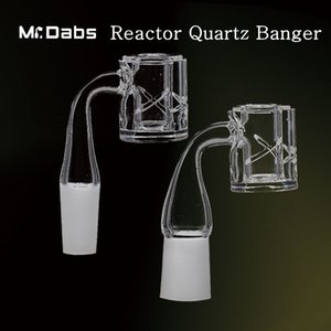 2mm Grosso Reator de Quartzo Banger Prego 25mm Diâmetro da Bacia com 5mm de Espessura Inferior de 90 graus para bongos de vidro em Mr_Dabs
