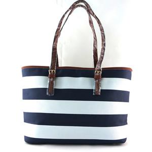 Frete grátis 2016 novas bolsas das mulheres estrela de qualidade perfeita com listras bolsa de ombro bolsa de compras grande saco
