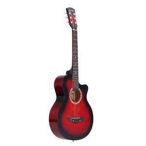 "38 ""Guitarra acústica de 6 cuerdas para obsequios para estudiantes principiantes"