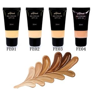 2017 POPFEEL BB cream hot style foundation of foundation for concealer and whitening and insulating makeup to brighten the 4 color optional