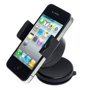 Culla universale del supporto del supporto del supporto dell'automobile dell'automobile del tergicristallo da 360 gradi per lo Smart Phone SAMRT PHONE GPS tutto il telefono cellulare con il pacchetto al minuto
