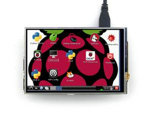 Freeshipping 4 pollici LCD Raspberry Pi 320 * 480 resistivo TFT LCD grandangolare display LCD HD per Raspberry Pi modello B / B +