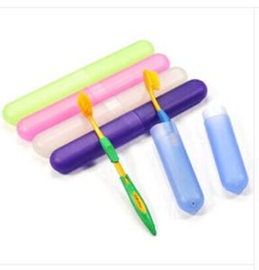 Vente en gros - F128 Cylindre de brosse à dents de santé de boîte de brosse à dents de voyage portable