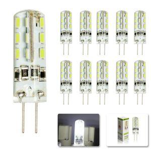 G4 Lâmpada LED SMD 3014 3 W DC 12 V Substituir 30 W lâmpada de halogéneo 360 Ângulo de Feixe de DIODO EMISSOR de Luz lâmpada de Cristal da lâmpada do candelabro acessórios
