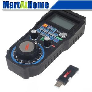 CNC 4 Axis Wireless Mach3 MPG Pendant Handwheel Controller for CNC Machine lathe #SM731 @SD