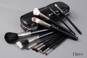 NOUVEAU bonne qualité Brosse de maquillage Best-Selling 12 pcs Set Pouch Brush Professional