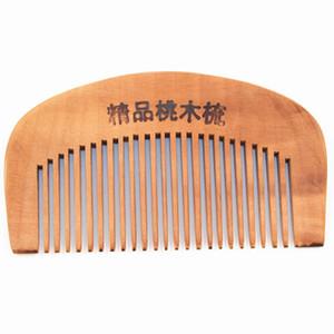 Petit peigne en bois antistatique portable soins de santé cosmétiques gros mois de la santé