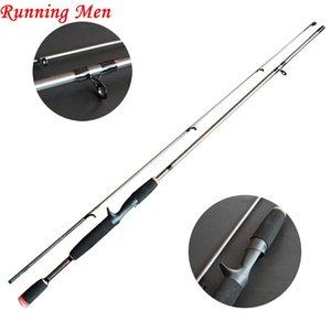 1.8M / 2.1M M Power 1 / 8-3 / 4oz 6-15LB Canna da pesca con esca da lancio per spinning in carbonio