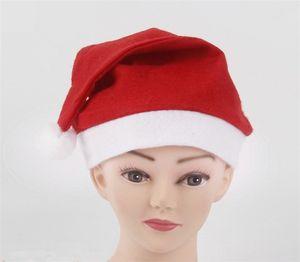 Neueste Weihnachtshüte Supplies Cap Weichem Plüsch Santa Claus Weihnachtsmütze Weihnachtsmütze Partyhütchen Santa Hat IC578