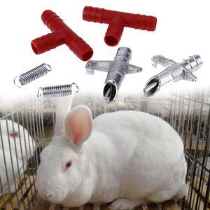 200pcs Automatic Feeders Nipple Water Rabbit Mouse Nipple Water Drinker Rodent Water Feeder Poultry Farm Animal